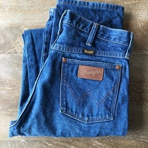 Vintage Wrangler Jeans 31 x 40 Mens Cowboy Western